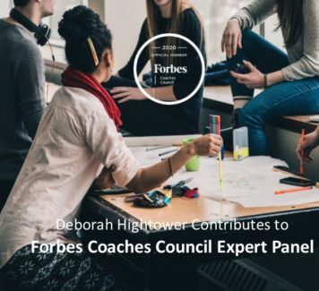 Deborah contributes to Forbes Coaches Council Expert Panel: 14 Professional (And Helpful) Ways to Address An Underperforming Colleague