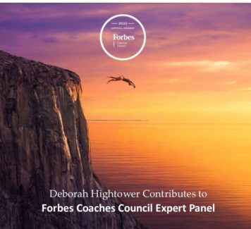 Deborah Contributes to Forbes Coaches Council Expert Panel: 15 Tricks To Break Out Of Your Comfort Zone And Make The Sale