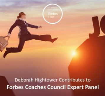 Deborah contributes to Forbes Coaches Council Expert Panel: 12 Clear-Cut Signs It's Time For You To Change Jobs