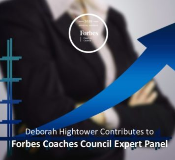 Deborah contributes to Forbes Coaches Council Expert Panel: 15 Clear Signs Your Employee Deserves A Promotion