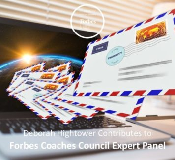 Deborah contributes to Forbes Coaches Council Expert Panel: 13 Common Email Habits That Hurt More Than Help