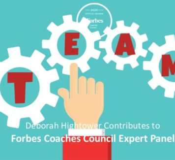 Deborah contributes to Forbes Coaches Council Expert Panel: 14 Key Considerations When Choosing The Right Team Incentives