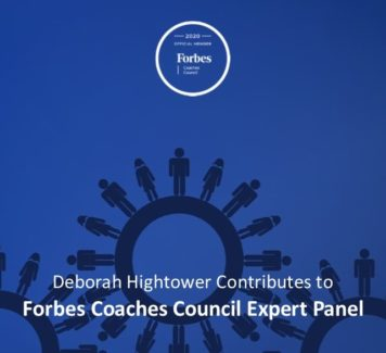 Deborah contributes to Forbes Coaches Council Expert Panel: Need A Recruiter For Your Job Search? 14 Things To Do When Considering Working With One