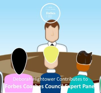 "Deborah contributes to Forbes Coaches Council Expert Panel: 13 ""Off-The-Wall"" Interview Questions Job Seekers Should Be Prepared To Answer"