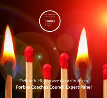 Deborah contributes to Forbes Coaches Council Expert Panel: 16 Tips For Reigniting Your Passion For Your Longtime Job