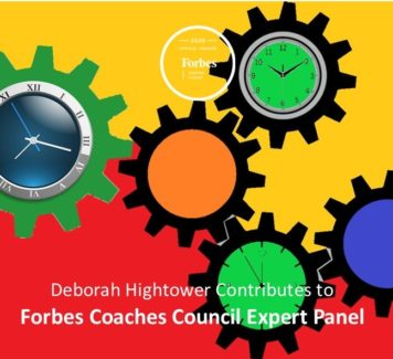 Deborah Contributes To Forbes Coaches Council Expert Panel: 12 Things To Avoid Doing If You Want A Productive Day